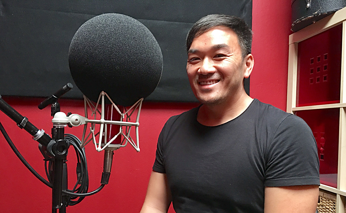Toan Lam, host of TruthDare