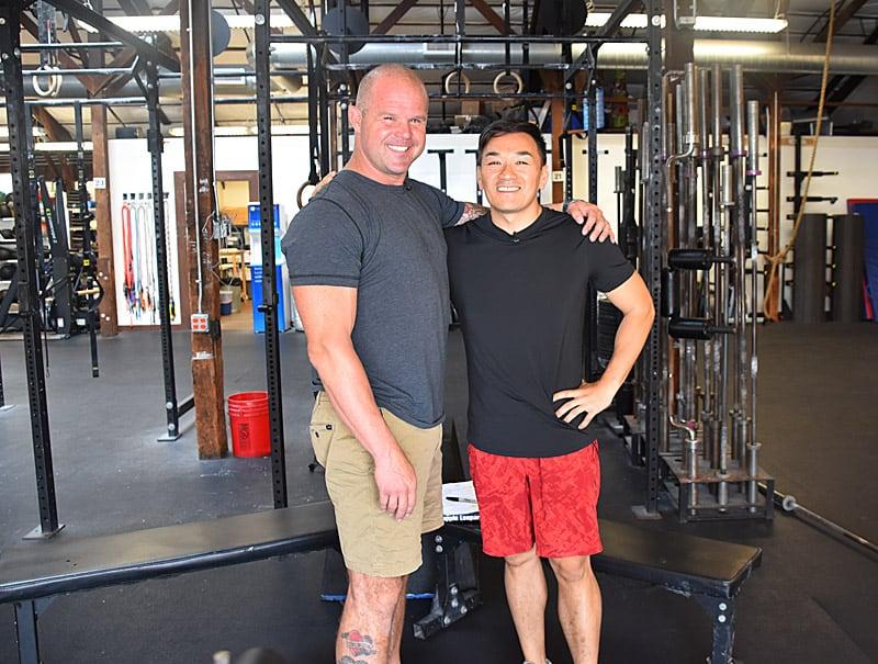 Kelly Starrett and Toan Lam